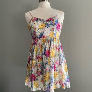 Lucca Couture Dresses - Floral Babydoll Dress